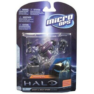 £9.99 • Buy Halo Series 1 Micro Ops Ghost Vs Wolf Spider Xbox 360 343 Industries Collectible