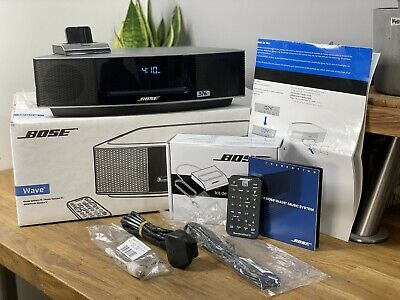 £429.95 • Buy Bose Wave Iv/4 DAB+ With Bluetooth - Titanium Silver - BOXED - MINT - (376)