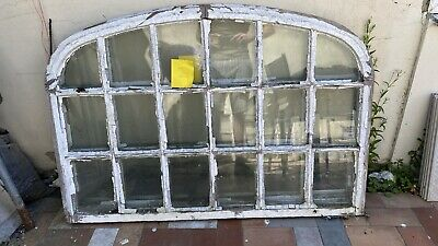 £200 • Buy Arched Window Sash Georgian Upcycling Project Mirror Vintage Reclaimed Antique
