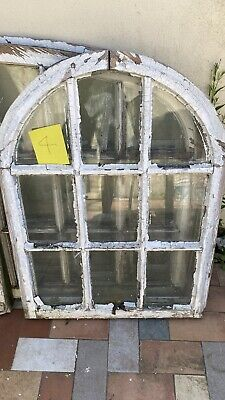 £100 • Buy Arched Window Sash Georgian Upcycling Project Mirror Vintage Reclaimed Antique