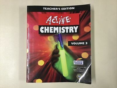 £31.06 • Buy Active Chemistry Teacher's Edition Vol 3 By  Eisenkraft SC 2007 It's About Time