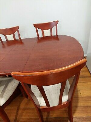 AU49 • Buy Solid Dining Table And 4 Chairs