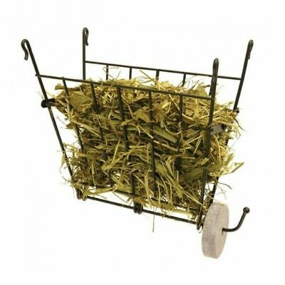 £8.49 • Buy Rosewood Small Animal Folding Wire Hay Rack With Treat Hanger Rabbit Guinea Pig