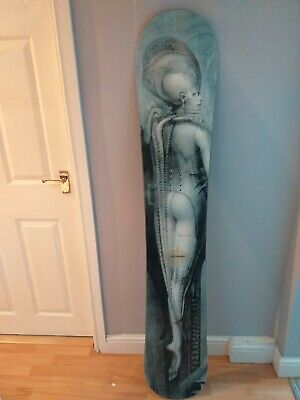 £199 • Buy HR Giger Limited Edition 'Temple' Snowboard (Ultra Rare)