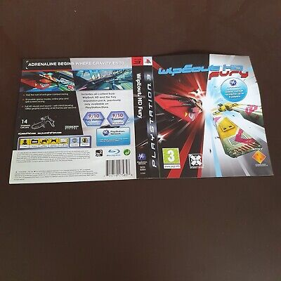 £2 • Buy PS3  - Replacement Cover - Wipeout HD Fury