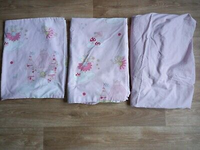 £11 • Buy Girls Next Fairy Pink Single Bedding Set EXCELLENT CONDITION!!
