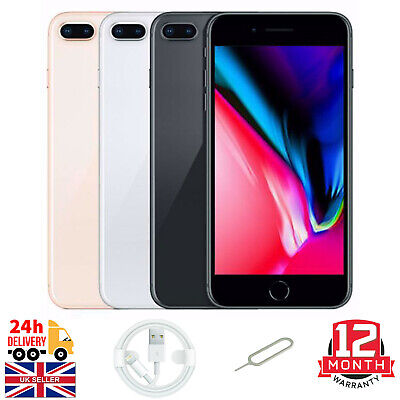 £218.89 • Buy Apple IPhone 8 Plus 64GB 256GB Unlocked Smartphone Silver/Gold/Grey Excellent A