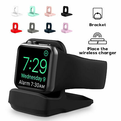AU7.20 • Buy For Apple Watch Series 65 4 3 2 1 SE Silicone Charging Charger Dock Stand Holder