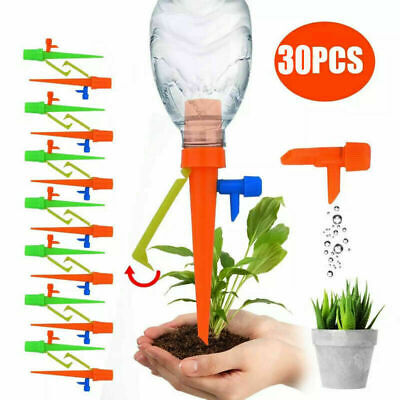 £4.99 • Buy 6-24X Automatic Drip Irrigation Spikes Flower Plant Garden Self-Watering Device