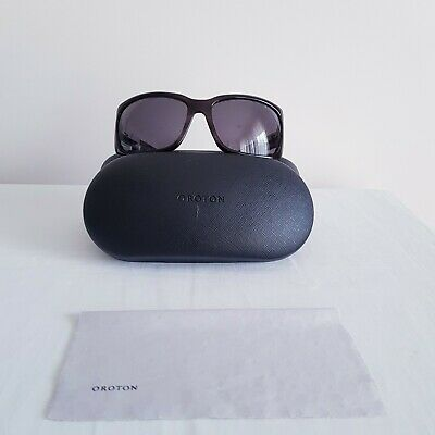 AU95 • Buy Authentic - Oroton - Women's - Brown Handmade - Crystal Embellished  Sunglasses