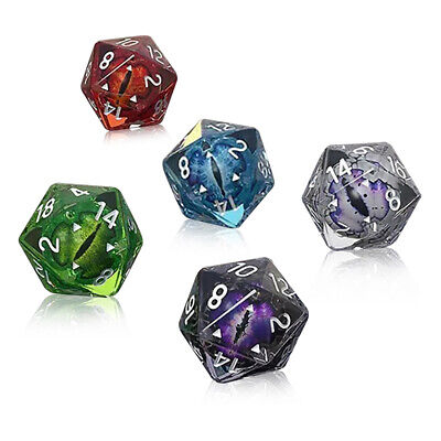 AU7.59 • Buy Polyhedral Dice For Dungeons And Dragons DND RPG D20 D12 D10 D8 D6 D4 Game