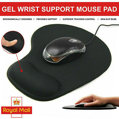 £2.79 • Buy Anti-Slip Mouse Pad/Mat W/ Comfort Rest Wrist Support For Macbook Laptop New