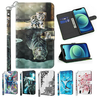 AU9.56 • Buy For Sony Xperia XA1 Z6 L1 E6 XZ1 XA1 Ultra L2 3D Painted Wallet Case Stand Cover