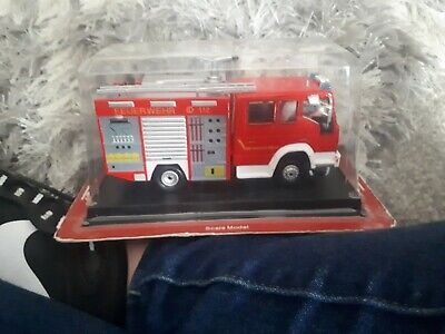 £5 • Buy Del Prado Fire Engines 1/57 Scale 2005 TLF 16/25 Iveco Magirus - Blister Pack