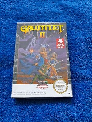 £40 • Buy Gauntlet 2 Nintendo Nes. Rare Vgc Collectable Investment Pal Version