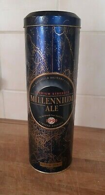 £9.99 • Buy Collectable Mansfield Brewery Company Millennium Ale Bottle With Tin Antique