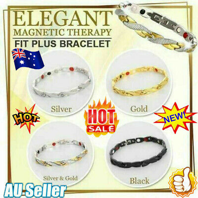 AU8.52 • Buy Elegant Magnetic Therapy Fit Plus Bracelet For Women Slimming Health Gifts ZR