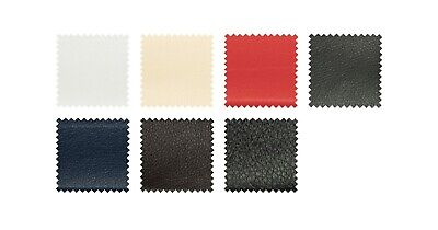 £0.99 • Buy Faux Leather/Leatherette/PVC/Vinyl/Upholstery Fabric Materials - 7 Colours