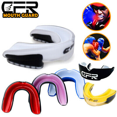 £6.98 • Buy Gel Gum Mouth Guard Shield Cases Tooth Grinding Boxing MMA Sports MouthPiece UK
