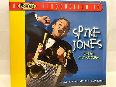 £4.94 • Buy Spike Jones And His City Slickers - Thank You Music Lovers CD - LIKE NEW