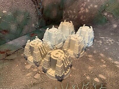 £14 • Buy 3DPrinted Objective Markers Large X6 Scatter Terrain For 28mm Miniature Wargames