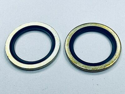 £1.95 • Buy Dowty Washer/Bonded Seals Imperial 3/4 BSP Pack Of 2