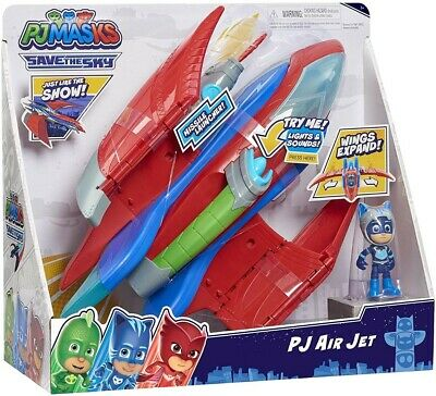 £16.99 • Buy PJ MASKS Air Jet Playset, Kids' Toy Figures & Vehicle Playsets, Toy Jet For Kids