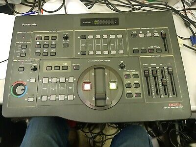 £99.99 • Buy Panasonic WJ-AVE7 Digital Video And Audio Mixer. NOT FULLY TESTED