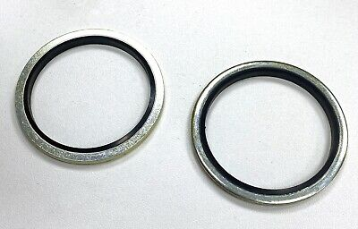 £1.95 • Buy Dowty Washer/Bonded Seals Imperial 1 1/4  BSP Pack Of 2