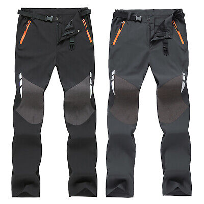 £20.69 • Buy Mens Soft Shell Camping Tactical Pants Casual Combat Hiking Outdoor Trousers