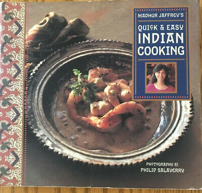 £5.82 • Buy Quick And Easy Indian Cooking By Madhur Jaffrey (1996, Trade Paperback)