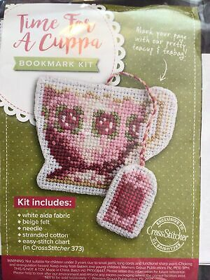 £2.99 • Buy Cup Of Tea And Teabag Bookmark Cross Stitch Kit