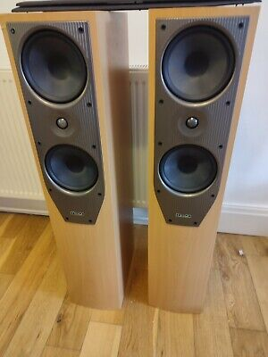 £115 • Buy Mission 74i Hi Fi Floor Standing Speakers Sounds Fabulous Bi Wire Spikes