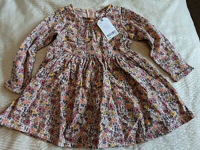 £6 • Buy BNWT Next Floral Ditsy Long Sleeve Dress 12-18 Months
