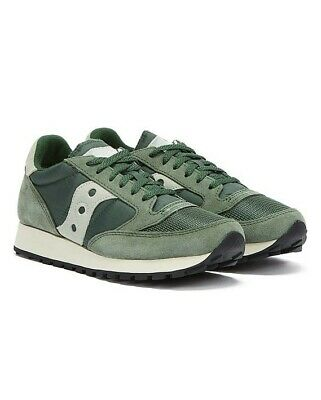 £54.99 • Buy Saucony Jazz Vintage Mens Green / White Trainers