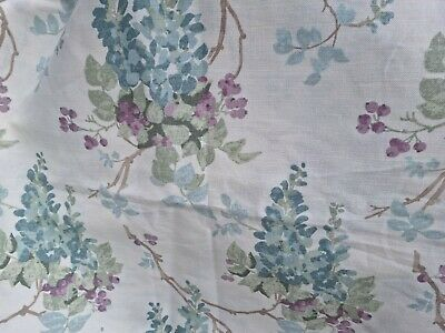 £75 • Buy Door Curtain Thermal Lined In Laura Ashley Wisteria Duck Egg