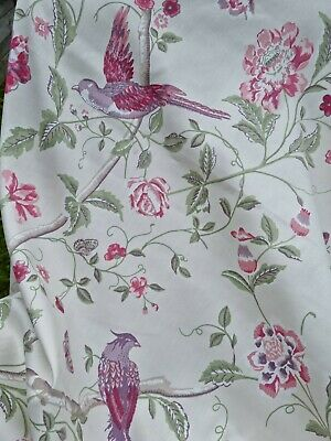 £75 • Buy Door Curtain Thermal Lined In Laura Ashley Summer Palace