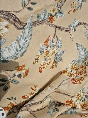£75 • Buy Door Curtain Thermal Lined In Laura Ashley Florentine Gold