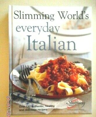 £10.99 • Buy Slimming World Everyday Italian H/b 120 Old Red Green & Ex E Plan Recipes Ex Con