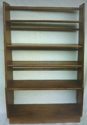 £750 • Buy ERCOL - Elm Wood Bookcase - 5 Shelves - For Collection