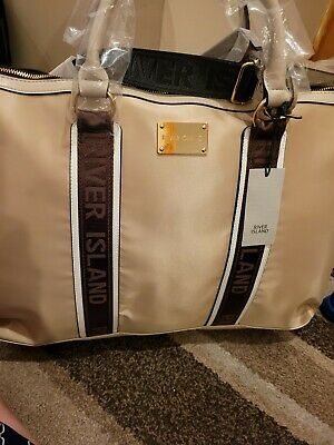 £45 • Buy River Island Beautiful HOLDALL BAG - Gym  Weekend Bag  New With Tags Rrp £50