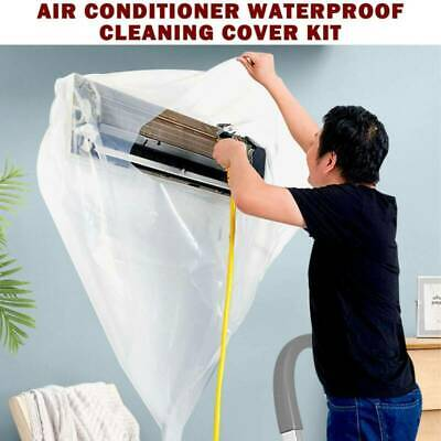 AU21.99 • Buy Home Air Conditioner Cleaning Dust Washing Clean Cover Waterproof Protector Bag