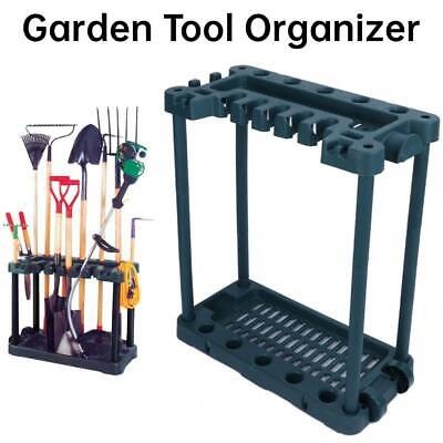 £36.09 • Buy Garden Tool Tidy Holder Free Standing Storage Rack Organiser Store For Shed