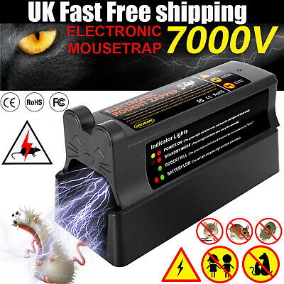 £26.99 • Buy Electric Mouse Trap Mice Rat Killer Pest Victor Electronic Control Zapper Rodent