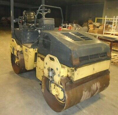 £7000 • Buy 2003 Bomag Bw 120 Ad 3 Double Smooth Drum Vibrating Roller