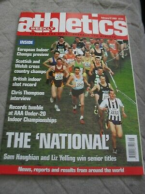 £0.99 • Buy Athletics Weekly Issue February 27th 2002