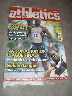 £0.99 • Buy Athletics Weekly Issue September 13th 2007