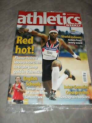 £0.99 • Buy Athletics Weekly Issue March 13th 2000 Philips Idowu