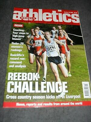 £0.99 • Buy Athletics Weekly Issue October 23rd 2002 Paula Radcliffe