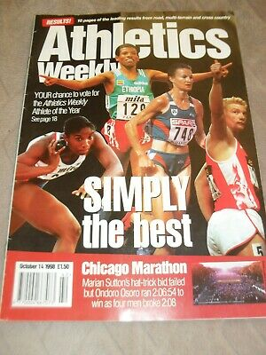 £0.65 • Buy Athletics Weekly Issue October 14th 1998